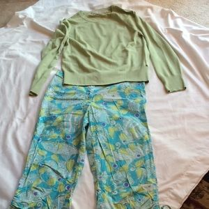 Lilly Pulitzer crop pant